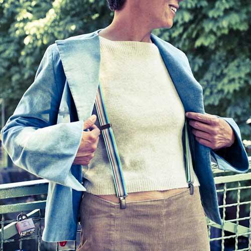 Bretelles pantalons fantaisie