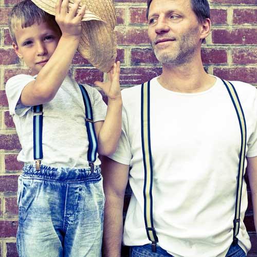Bretelles pantalons pour homme