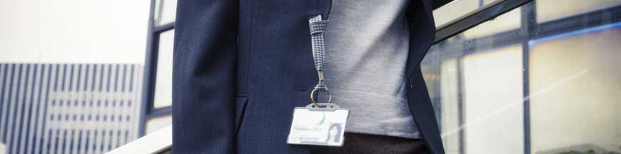 Dragonne porte-badge