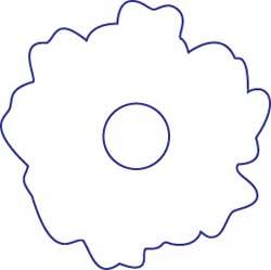 Patch thermocollant Fleur
