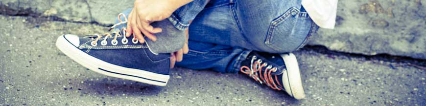 Lacets chaussures enfant