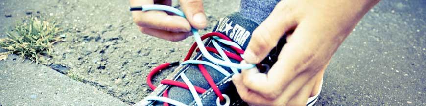 Lacets chaussures élastiques