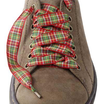 Lacets chaussures Ecossais
