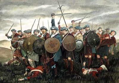 Rébellion écossaise face aux Anglais