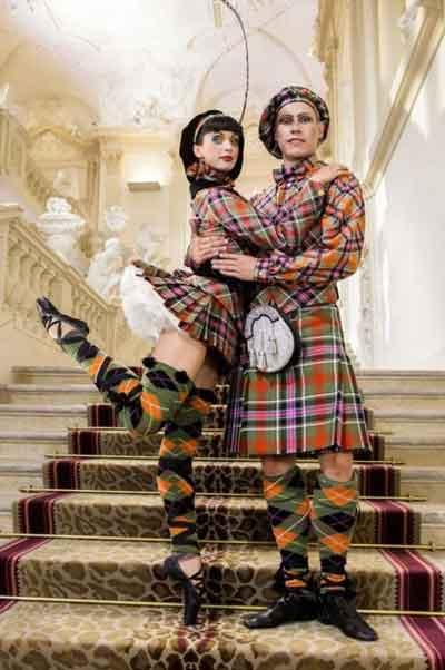 Costumes écossais Vivienne Westwood