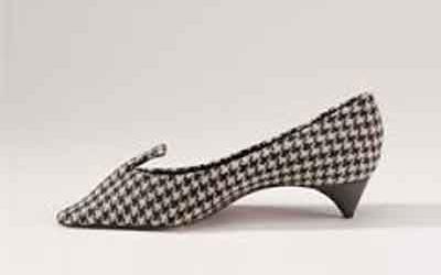 Chaussure Pied de poule Roger Vivier