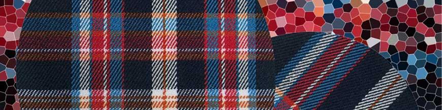 Renfort thermocollant pantalon écossais