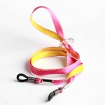 Cordon-lunettes enfant Bicolore jaune et rose