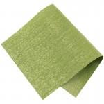 Pièce thermocollante à découper tissu Lurex vert et or