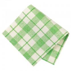 Pièce thermocollante tissu Carreaux vert
