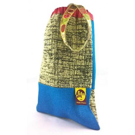 Petit sac bandoulière Alphabet Or