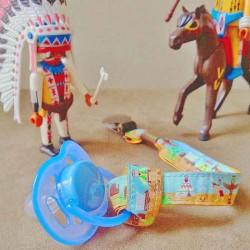 Attache-sucette Cowboy