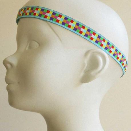 bandeau-tete-cheveux-enfant-mosaique-bleu