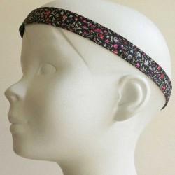 bandeau-tete-cheveux-enfant-fleur-noir