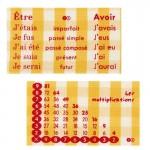 Thermocollants Multiplication / Conjugaison orange