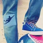 Lacets chaussures élastiques kaki et bordeaux 90cm