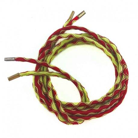 lacet-elastique-vert-rouge - 130