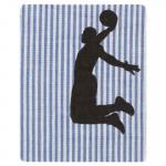 Thermocollant Basketball rayures