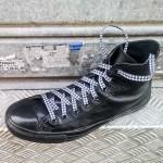 Lacets chaussures Pied de poule 130cm