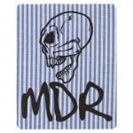 Ecusson Tête de mort MDR rayures