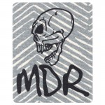 Ecusson Tête de mort MDR chevrons