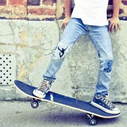 Thermocollant Skate jump rayures