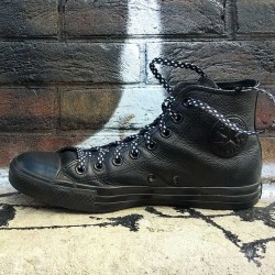 lacet-chaussure-pois-noir