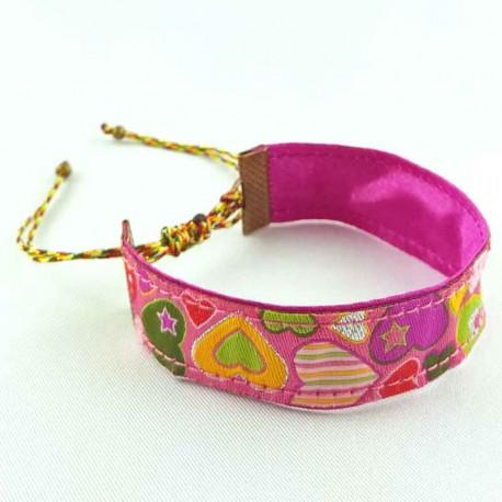 bracelet-ruban-coeur