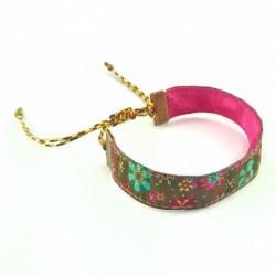 bracelet-coulissant-fleur-kaki