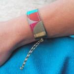 Bracelet ruban Mosaïque