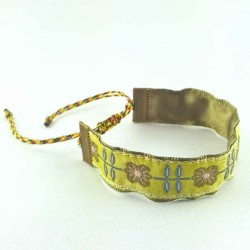 bracelet-coulissant-fleur-romance-kaki