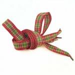 Lacets Ecossais rouge 130cm
