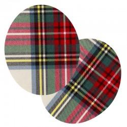 renfort-thermocollant-ecossais-rouge-vert