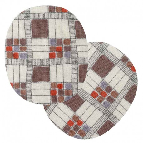 renfort-thermocollant-mosaique-marron