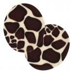 Thermocollants velours peau Girafe