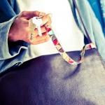 Tour de cou porte-clefs Mosaïque