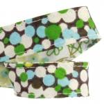 Attache-serviette adulte Pois vert