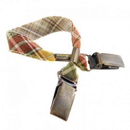 attache-doudou-serviette-ecossais-beige
