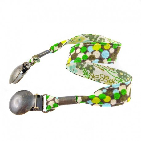 attache-serviette-adulte-pois-vert