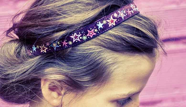 Bandeau de tête cheveux