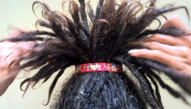 Chouchou élastique cheveux