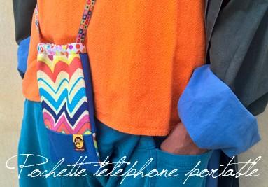 Pochette téléphone portable